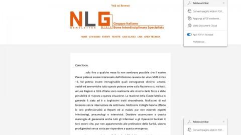 Newsletter G.I.B.I.S. 2020 – Marzo